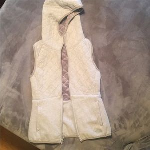 North face Vest size small grey